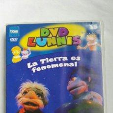 Series de TV: LUNNIS LA TIERRA ES FENOMENAL DVD. Lote 179060646
