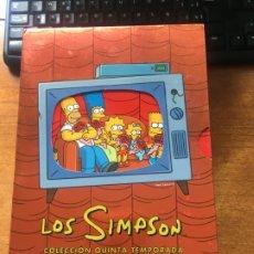 Series de TV: LOS SIMPSON QUINTA TEMPORADA. Lote 179064492