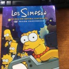 Series de TV: LOS SIMPSON SEPTIMA TEMPORADA. Lote 179064560