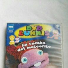 Series de TV: LUNNIS LA RUMBA DEL METEORITO DVD. Lote 179080286