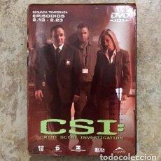 Series de TV: CSI 3 DVD - SEGUNDA 2º TEMPORADA 13-23 COMPLETO. Lote 179196552