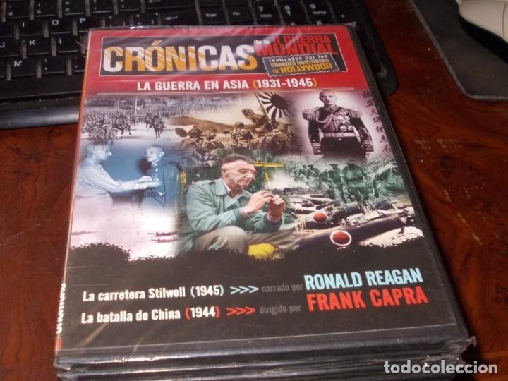Series de TV: Lote 14 DVD con películas de la Segunda Guerra Mundial, precintadas menos una, ver fotos contenido - Foto 2 - 179197850