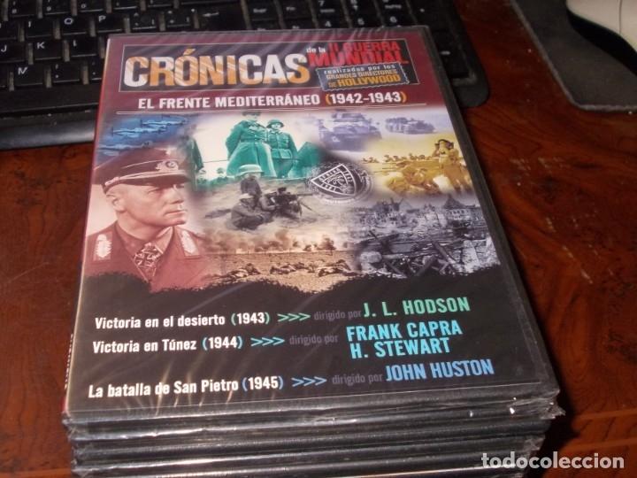 Series de TV: Lote 14 DVD con películas de la Segunda Guerra Mundial, precintadas menos una, ver fotos contenido - Foto 4 - 179197850