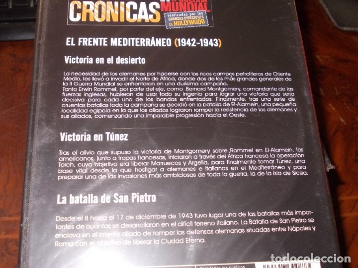 Series de TV: Lote 14 DVD con películas de la Segunda Guerra Mundial, precintadas menos una, ver fotos contenido - Foto 5 - 179197850