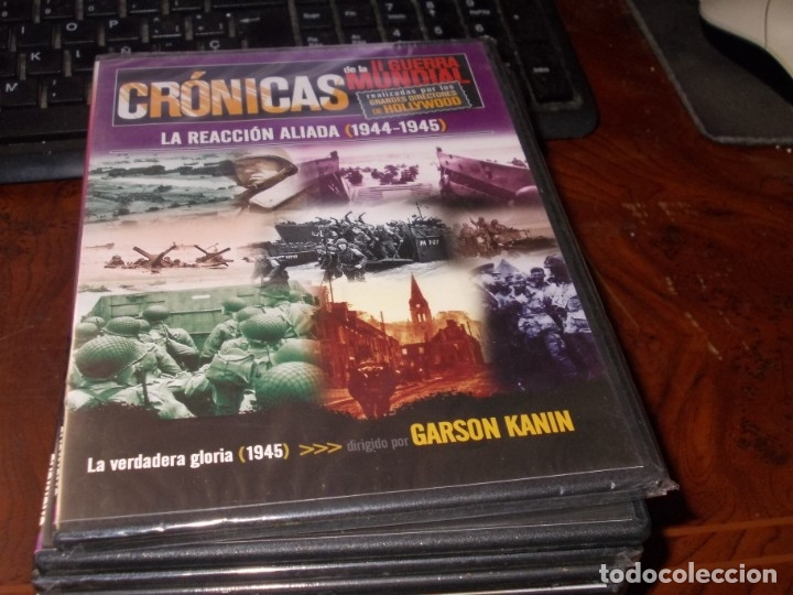 Series de TV: Lote 14 DVD con películas de la Segunda Guerra Mundial, precintadas menos una, ver fotos contenido - Foto 6 - 179197850