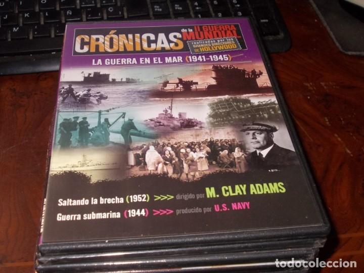 Series de TV: Lote 14 DVD con películas de la Segunda Guerra Mundial, precintadas menos una, ver fotos contenido - Foto 8 - 179197850