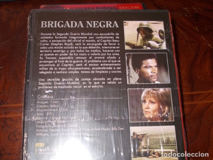 Series de TV: Lote 14 DVD con películas de la Segunda Guerra Mundial, precintadas menos una, ver fotos contenido - Foto 23 - 179197850