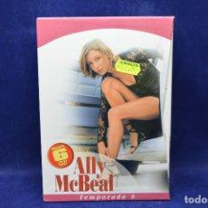 Series de TV: ALLY MCBEAL - TEMPORADA 5 - DVD. Lote 179231160