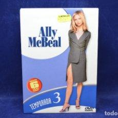 Series de TV: ALLY MCBEAL - TEMPORADA 3 - DVD. Lote 179231300
