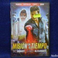 Series de TV: MISION EN EL TIEMPO - PRIMERA TEMPORADA PARTE 1 - DVD. Lote 179237321