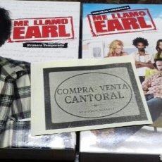 Series de TV: ME LLAMO EARL. 1 Y 2 TEMPORADA. DVD. Lote 179240693