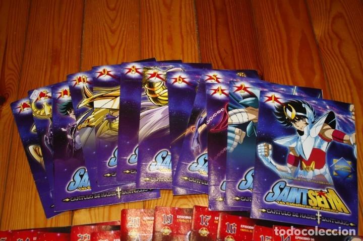 Series de TV: 30 DVD'S CABALLEROS DEL ZODIACO (SAINT SEIYA) - Foto 2 - 180044338