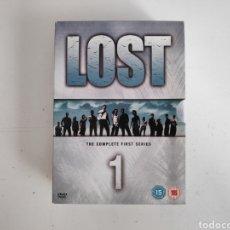 Series de TV: DVD. LOST (PERDIDOS) TEMPORADA 1, EDICION UK. AUDIO INGLES. Lote 180153167