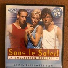 Series de TV: - DVD - SOUS LE SOLEIL (LA COLLECTION OFFICIELLE). SAISON 1 N° 2 (SERIE TV). VERSION FRANÇAISE.. Lote 180516130