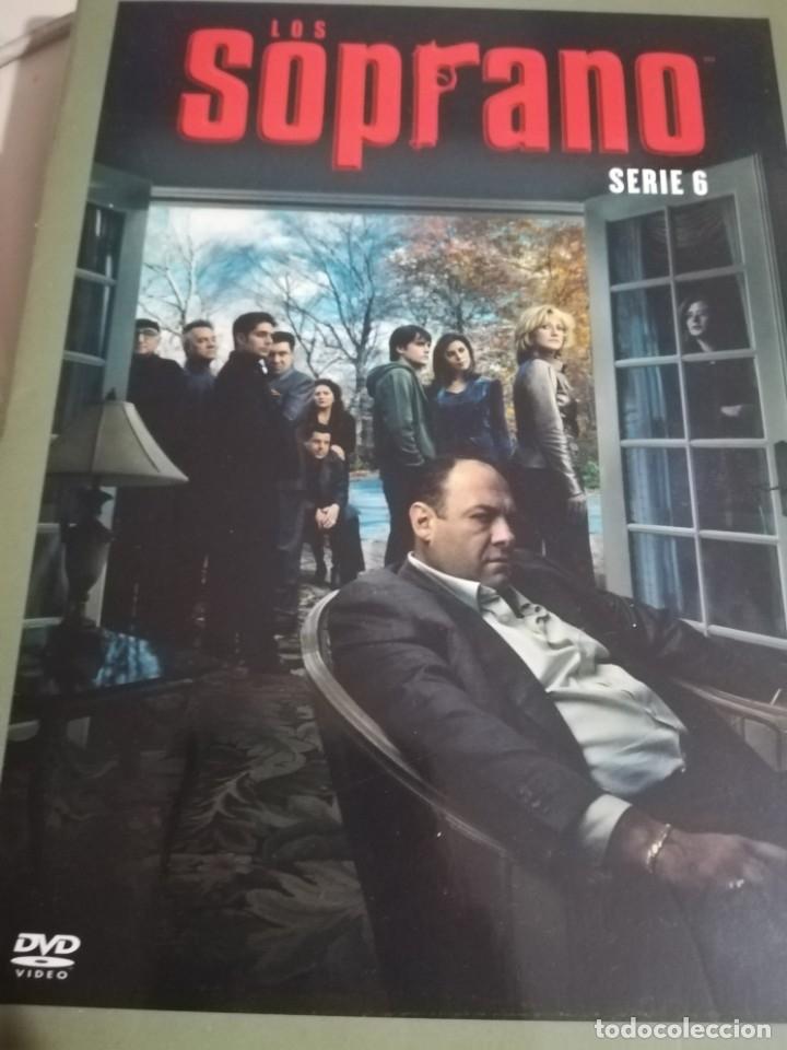 SERIE DE TV LOS SOPRANO HBO. SERIE 6 COMPLETA. 4 DVDS CON FOTOS Y CATÁLOGO DE CAPÍTULOS. REF. UR EST (Series TV en DVD)