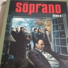 Series de TV: SERIE DE TV LOS SOPRANO HBO. SERIE 6 COMPLETA. 4 DVDS CON FOTOS Y CATÁLOGO DE CAPÍTULOS. REF. UR EST. Lote 180600832