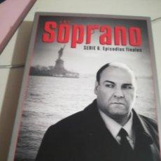 Series de TV: SERIE DE TV LOS SOPRANO HBO. SERIE 6 EPISODIOS FINALES, COMPLETA. 4 DVDS CON FOTOS REF. UR EST. Lote 180600867