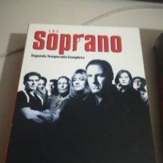Series de TV: LOS SOPRANO - SEGUNDA TEMPORADA COMPLETA 6 DVD SERIE DE TV. REF. UR EST . Lote 180601442