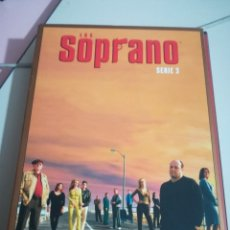 Series de TV: LOS SOPRANO SERIE 3 (4 DVD) REF. UR EST . Lote 180601758