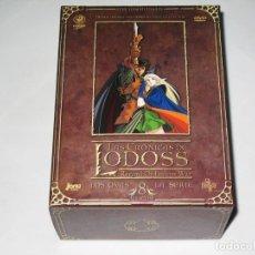 Series de TV: LAS CRÓNICAS DE LODOSS LA SERIE + LOS OVAS DVD RECORD OF LODOSS WAR JONU MEDIA. Lote 180862542