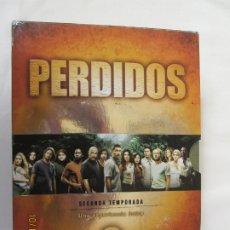 Series de TV: PERDIDOS - SEGUNDA TEMPORADA - 7 DVD. . Lote 180871472