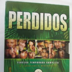 Series de TV: PERDIDOS - TERCERA TEMPORADA - 4 DVD. . Lote 180871923
