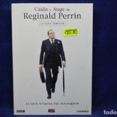 Séries de TV: CAIDA Y AUGE DE REGINALD PERRIN - DVD - LA SERIE COMPLETA . Lote 180956601