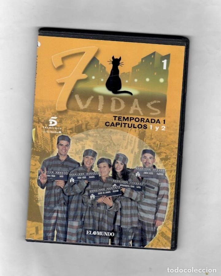 7 VIDAS - TEMPORADA 1- CAPITULO 1 Y 2 - NUEVO -ESTUCHE CAJA SLIM (Series TV en DVD)