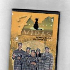 Series de TV: 7 VIDAS - TEMPORADA 1- CAPITULO 1 Y 2 - NUEVO -ESTUCHE CAJA SLIM. Lote 49860931