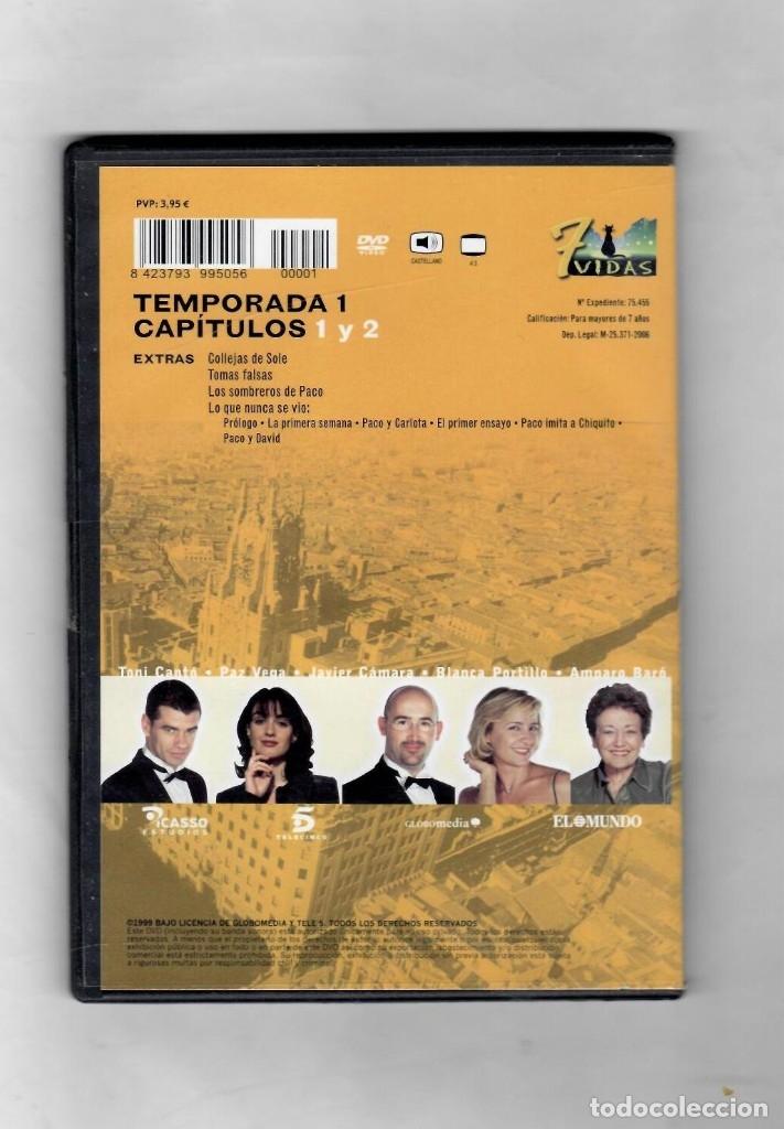 Series de TV: 7 vidas - temporada 1- capitulo 1 y 2 - NUEVO -Estuche caja SLIM - Foto 2 - 49860931