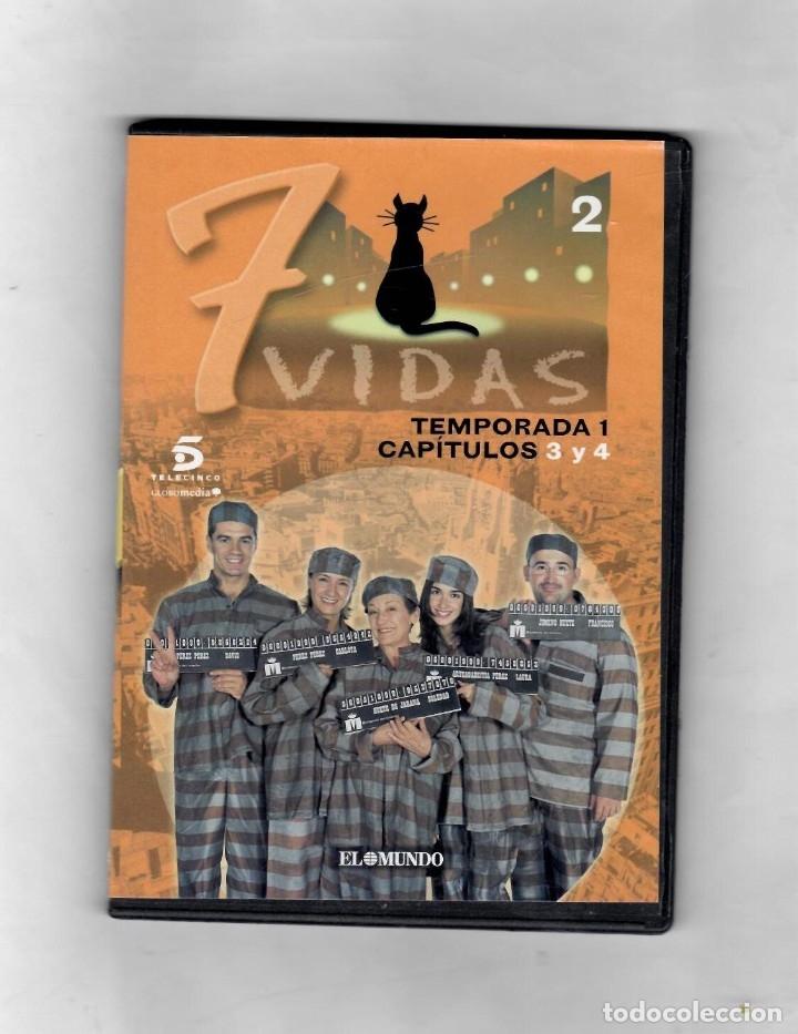 7 VIDAS - TEMPORADA 1- CAPITULO 3 Y 4 - NUEVO ESTUCHE CAJA SLIM (Series TV en DVD)