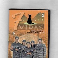 Series de TV: 7 VIDAS - TEMPORADA 1- CAPITULO 3 Y 4 - NUEVO ESTUCHE CAJA SLIM. Lote 49893257