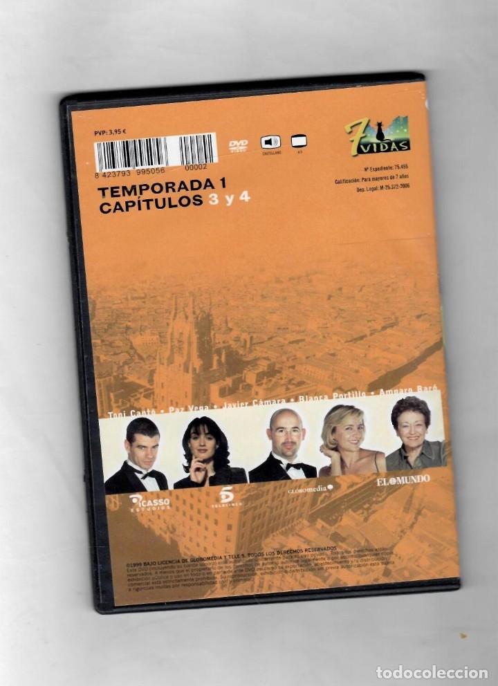 Series de TV: 7 vidas - temporada 1- capitulo 3 y 4 - NUEVO Estuche caja SLIM - Foto 2 - 49893257