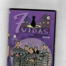 Series de TV: 7 VIDAS - TEMPORADA 1- CAPITULO 11 Y 12 - NUEVO -ESTUCHE CAJA SLIM. Lote 49862079