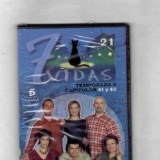 Series de TV: 7 VIDAS -TEMPORADA 2- CAPITULO 41 Y 42 - NUEVO- ESTUCHE CAJA SLIM. Lote 49862120