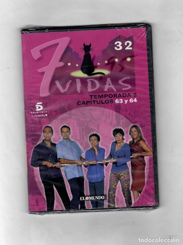 7 VIDAS - TEMPORADA 3- CAPITULO 63 Y 64 - NUEVO ESTUCHE CAJA SLIM (Series TV en DVD)