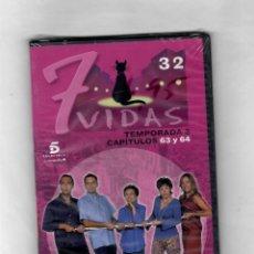 Series de TV: 7 VIDAS - TEMPORADA 3- CAPITULO 63 Y 64 - NUEVO ESTUCHE CAJA SLIM. Lote 49862203