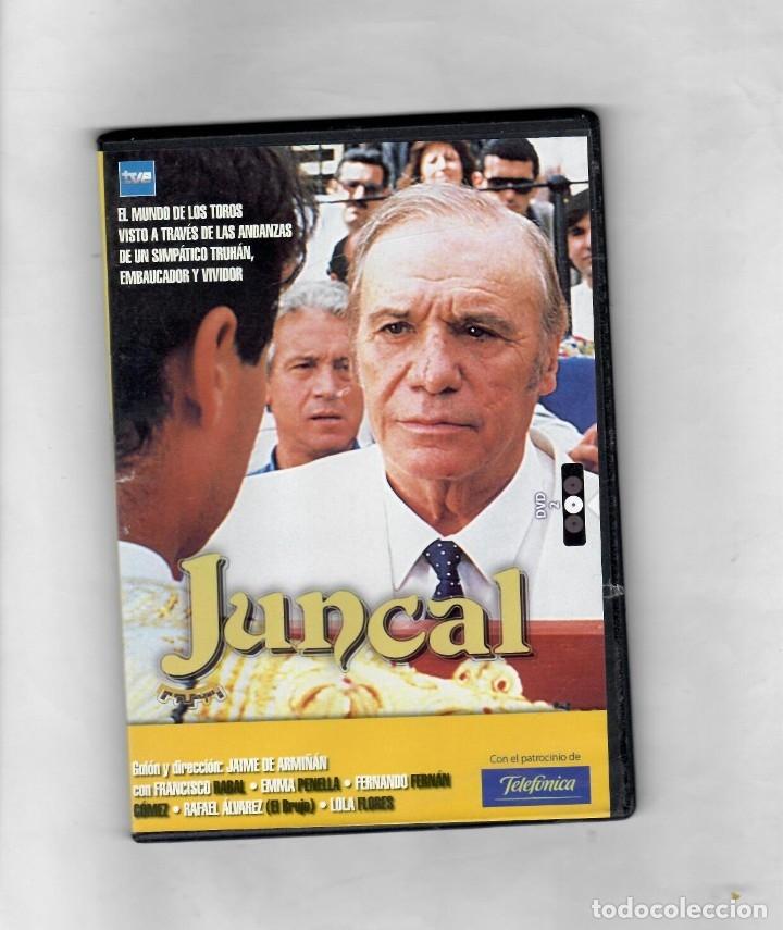 JUNCAL. SERIE TV TVE. DVD 2. CAPÍTULOS 3, 4 Y 5- NUEVO- ESTUCHE CAJA SLIM (Series TV en DVD)