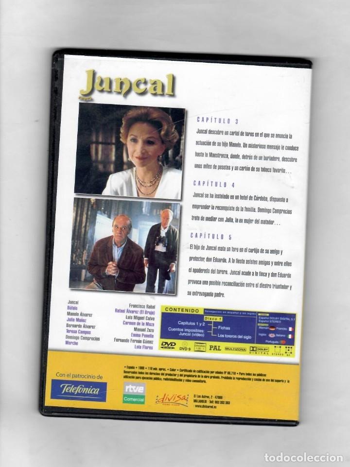Series de TV: Juncal. Serie TV TVE. DVD 2. Capítulos 3, 4 y 5- NUEVO- Estuche caja SLIM - Foto 2 - 50173880