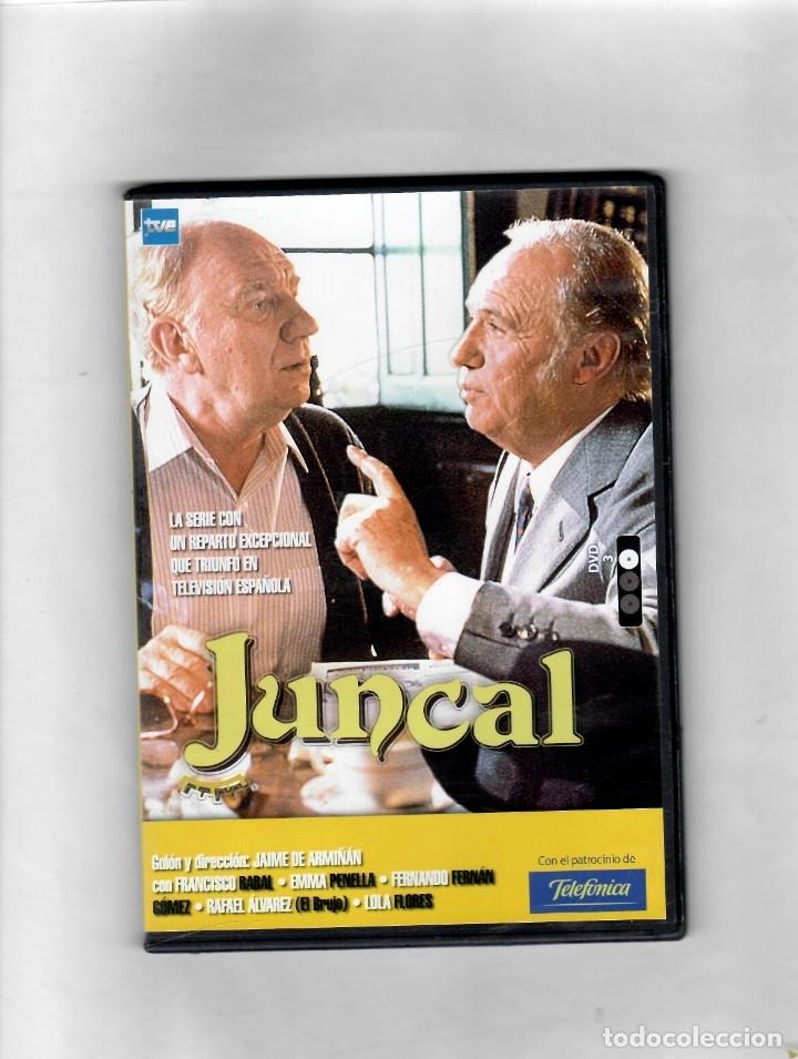 JUNCAL. SERIE TV TVE. DVD 3. CAPÍTULOS 6 Y 7- NUEVO ESTUCHE CAJA SLIM (Series TV en DVD)