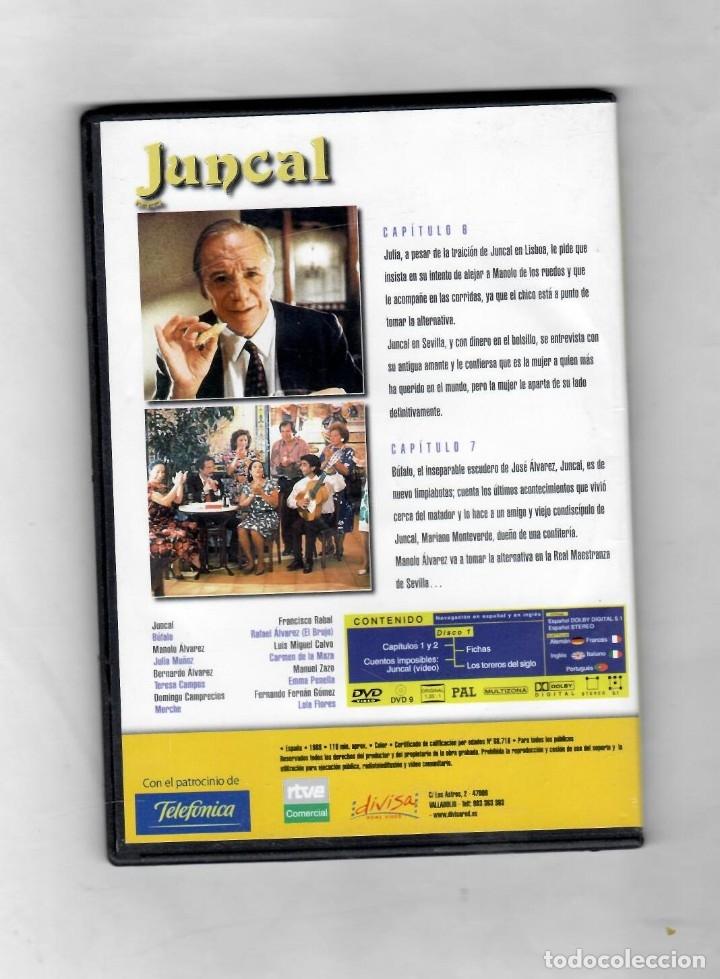 Series de TV: Juncal. Serie TV TVE. DVD 3. Capítulos 6 y 7- NUEVO Estuche caja SLIM - Foto 2 - 50173902
