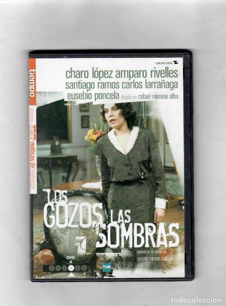 LOS GOZOS Y LAS SOMBRAS. DISCO Nº4 DE 6. ESTUCHE CAJA SLIM - NUEVO (Series TV en DVD)
