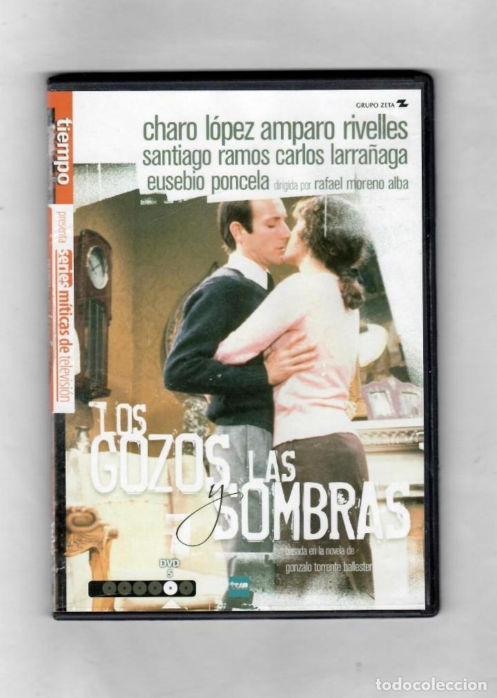 LOS GOZOS Y LAS SOMBRAS. DISCO Nº5 DE 6. ESTUCHE CAJA SLIM - NUEVO (Series TV en DVD)