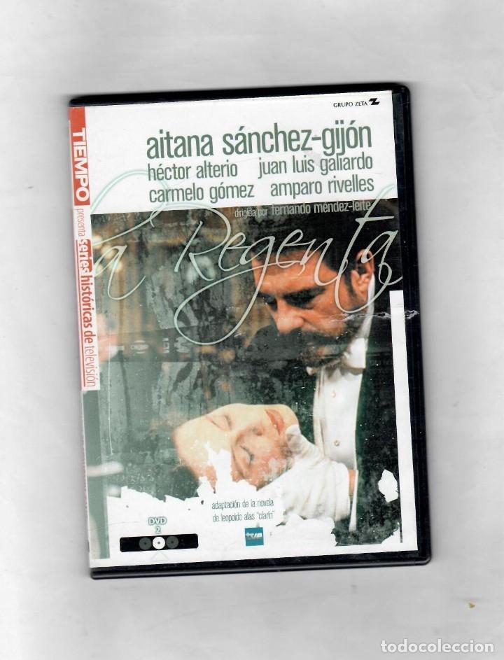LA REGENTA DISCO Nº 2 DE 3.ESTUCHE CAJA SLIM - NUEVO (Series TV en DVD)