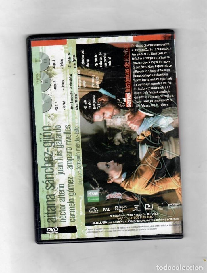 Series de TV: La Regenta Disco nº 2 de 3.Estuche caja SLIM - NUEVO - Foto 2 - 50230793