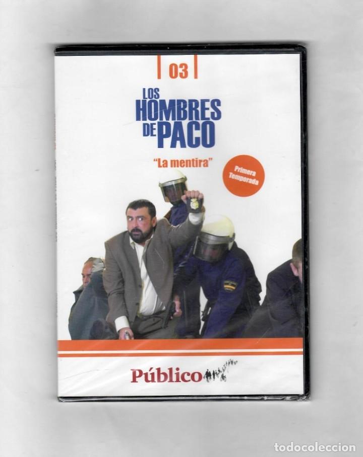 LOS HOMBRES DE PACO- LA MENTIRA - CAPÍTULO 3 PRIMERA TEMPORADA- NUEVO-ESTUCHE CAJA SLIM (Series TV en DVD)