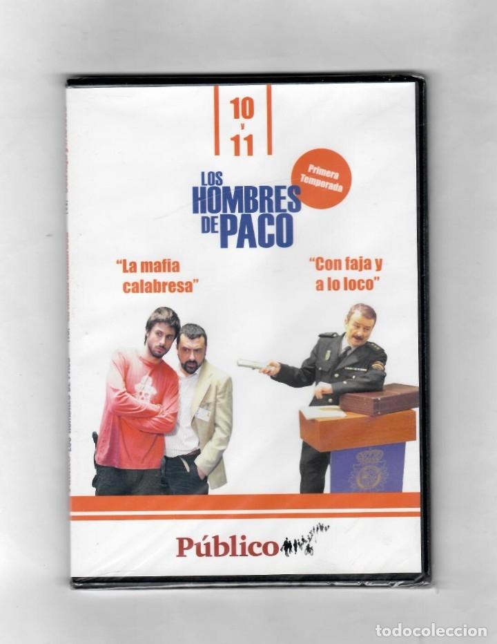 LOS HOMBRES DE PACO- CAPÍTULO 10 Y 11 TEMPORADA PRIMERA - NUEVO -ESTUCHE CAJA SLIM (Series TV en DVD)