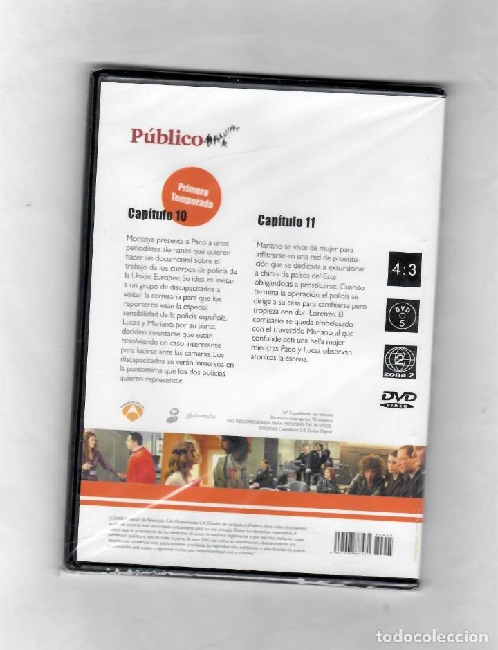 Series de TV: Los Hombres de Paco- Capítulo 10 y 11 temporada primera - nuevo -Estuche caja SLIM - Foto 2 - 50280793