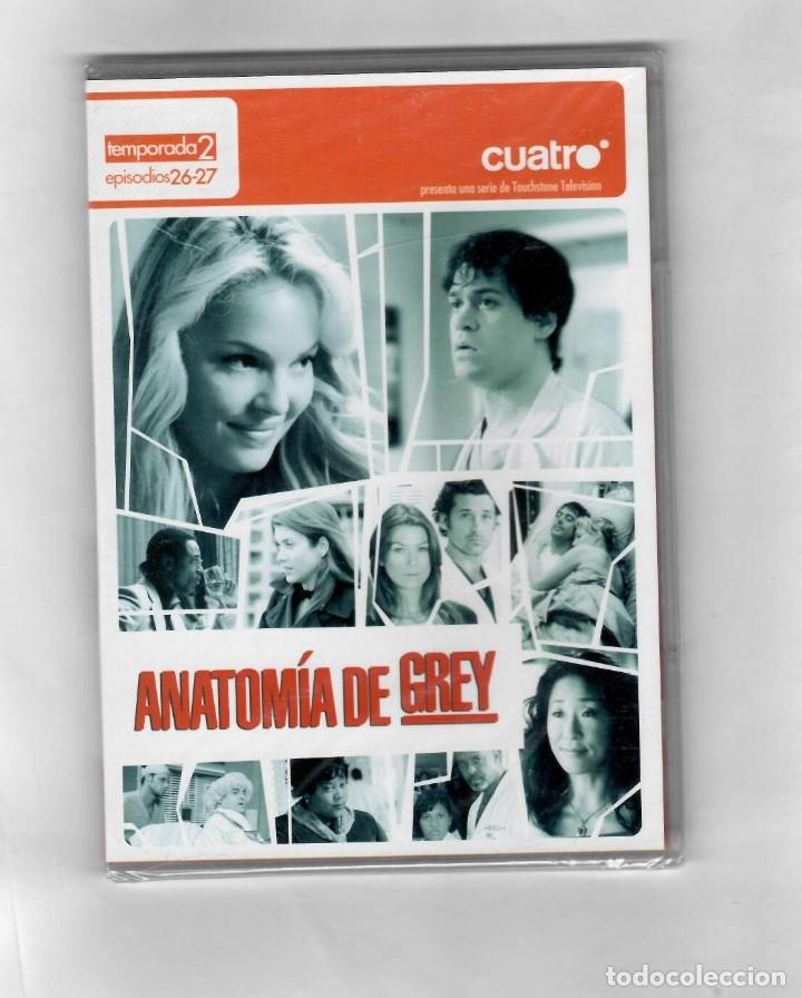 ANATOMÍA DE GREY -TEMPORADA 2 EPISODIOS 26-27 - ESTUCHE CAJA SLIM NUEVO (Series TV en DVD)