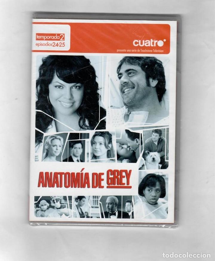 ANATOMÍA DE GREY -TEMPORADA 2 EPISODIOS 24-25 -SEGUNDA MANO NUEVO-ESTUCHE CAJA SLIM (Series TV en DVD)